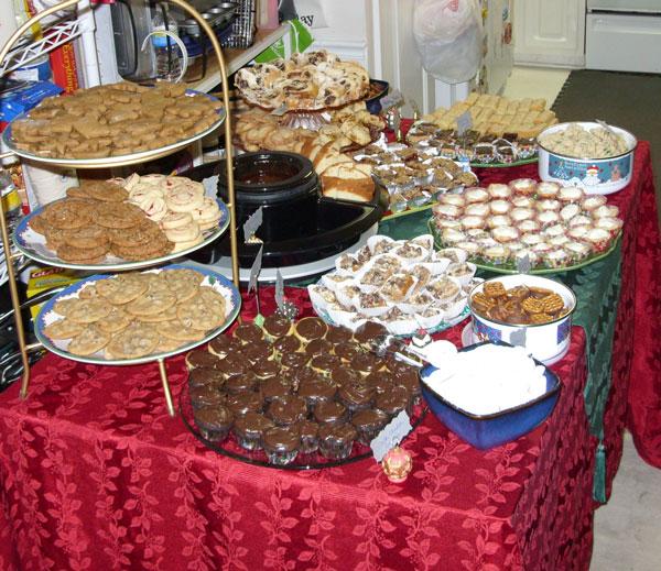 2009 Dessert Table