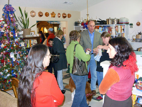 2009 Open House Party Goers