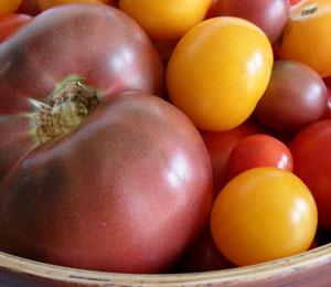 Local Heirloom Tomatoes