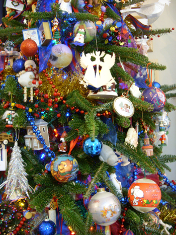 Ornaments on the tree